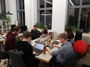 Participants of the FSFE web-a-thon 2018